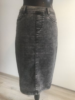 Amisu Denim Skirt grey