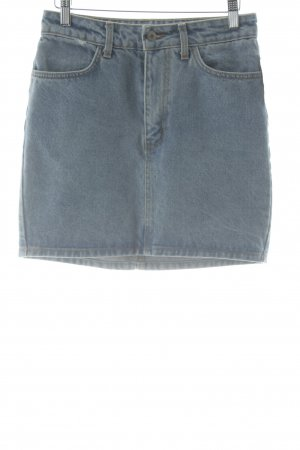 Jeansrock blau schlichter Stil