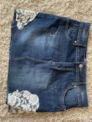 bpc Denim Skirt dark blue