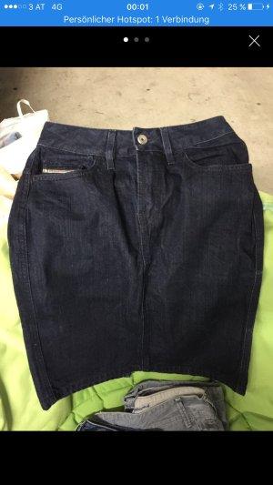 Jeansrock Damen dunkelblau Größe 26