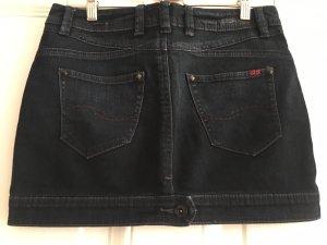 s.Oliver Denim Skirt dark blue