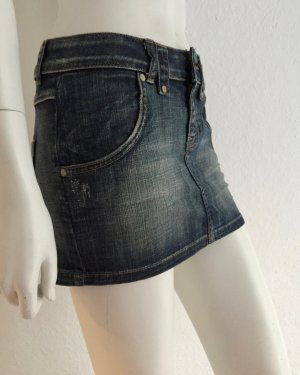 Jeansrock Denim Size 34 Blue New