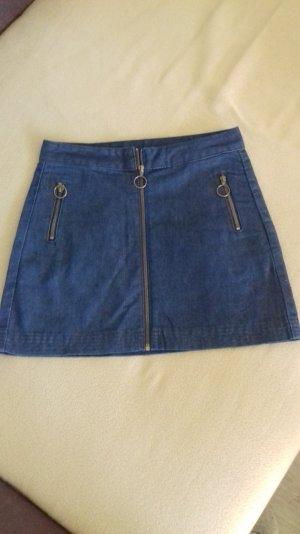 Jeansrock, dunkelblau, Gr 38 ( fällt kleiner aus)