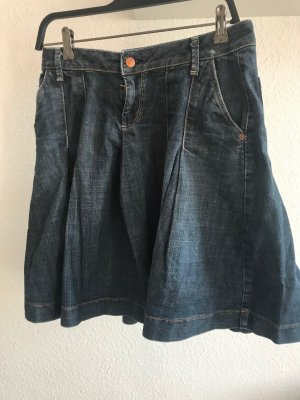 Jeansrock dunkelblau, Zara, Größe 38
