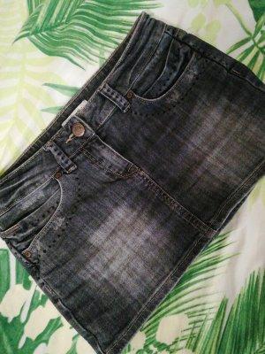 Pimkie Jupe en jeans bleu foncé