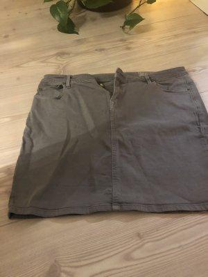 Esprit Jupe en jeans gris brun