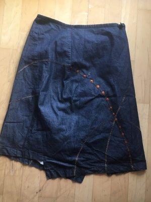 Custo Barcelona Gonna di jeans blu-blu scuro