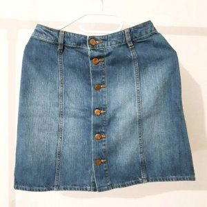 H&M Jupe en jeans bleu
