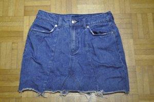 H&M Spijkerrok blauw-donkerblauw