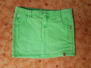 edc Denim Skirt mint-meadow green