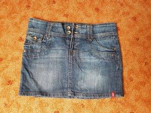 edc Denim Skirt blue-dark blue