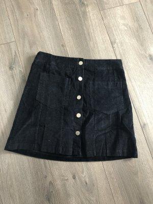 Jupe en jeans noir