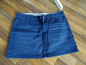 Jeansrock H&M in 36, kleines Muster