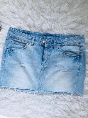H&M Jupe en jeans bleu clair