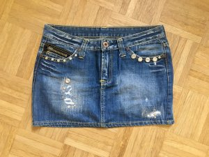 Jeansrock im used Look von Only