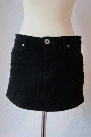 Jeansrock / Jeans-Minirock in Schwarz von Dr. Denim