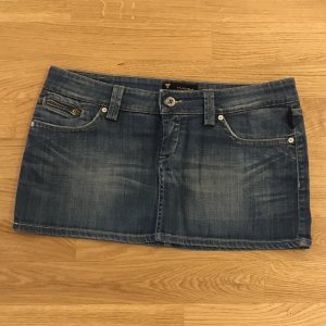 Jeansrock mini, mit Stretch