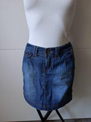 QS by s.Oliver Jupe en jeans multicolore