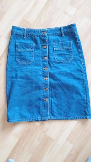 Jeansrock mit Druckknöpfen
