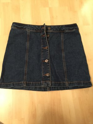 Jeansrock mit Knopfleiste