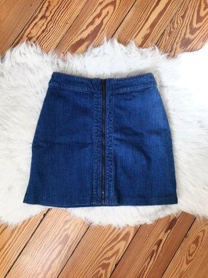 Jeansrock mit Reißverschluss