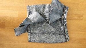 Jeansrock mit Schösschen/Beistiftrock