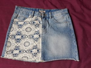 Denim Co. Jupe en jeans multicolore