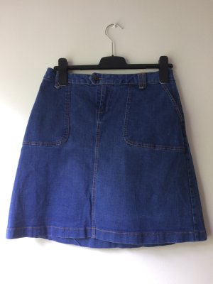 Jeansrock mit Taschen