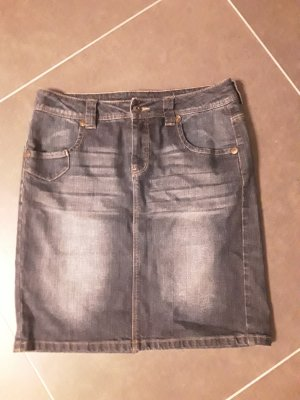 Jeansrock mit toller Waschung