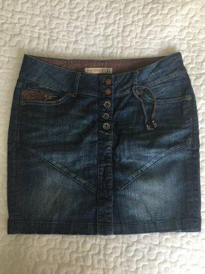 Jeansrock #MUSTANG Jeans #Blogger#altrosa