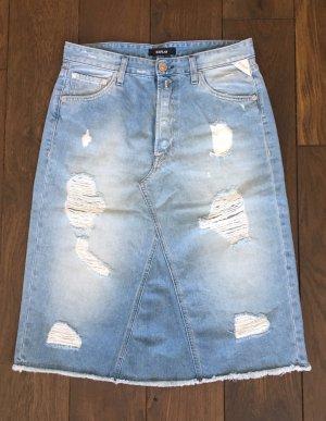Replay Gonna di jeans azzurro