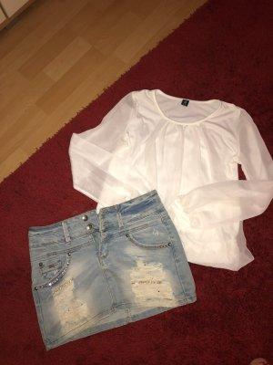 Jeansrock S Shirt S Tunika