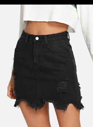 SheIn Jupe en jeans noir