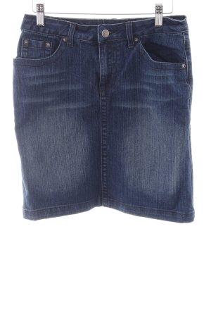 Spijkerrok staalblauw Jeans-look