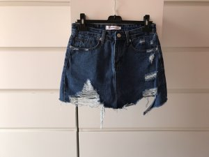 Jeansrock used Look NEU