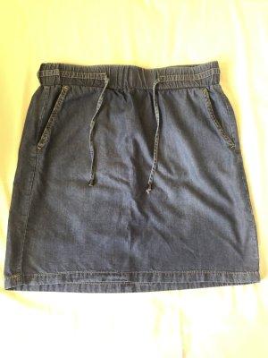 More & More Jupe en jeans gris ardoise