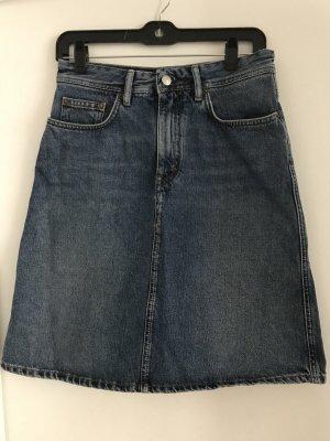 Acne Gonna di jeans blu