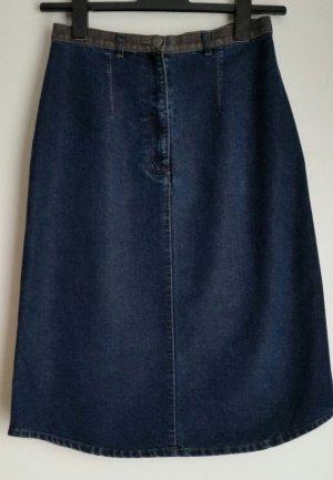 Jeansrock von Anne L Casual- Look dunkelblau