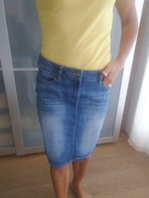 Esprit Gonna di jeans blu fiordaliso