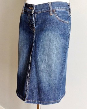 French Connection Denim Gonna di jeans blu Cotone