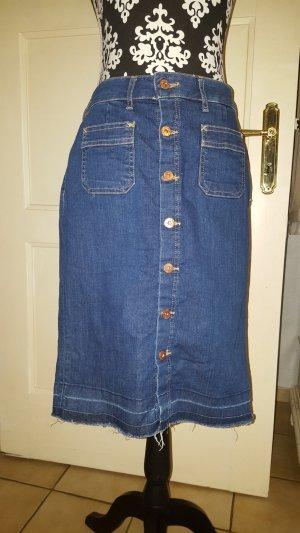 H&M Denim Skirt steel blue