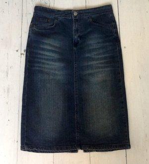 Kookai Jupe en jeans bleu