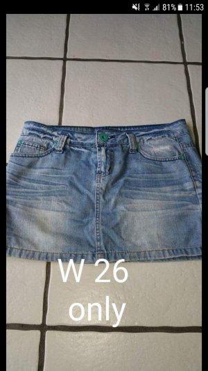 jeansrock von only Gr.W27