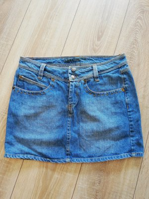 Raiden Denim Skirt light blue