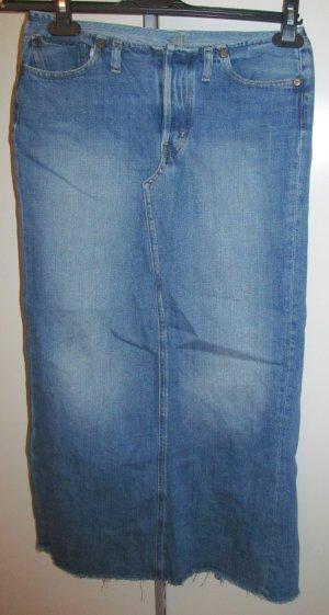 Replay Jupe en jeans bleu fluo