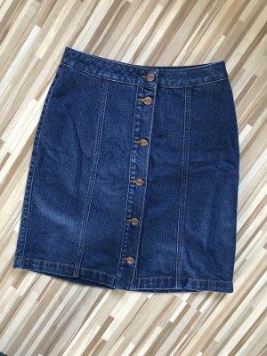 Tamaris Denim Skirt dark blue