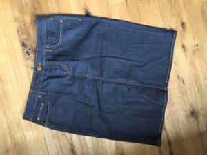 Jeansrock von Zara in dunklem blau