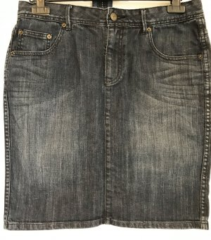 Jeansrock washed black Christian Berg
