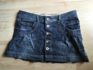 Jeansrock zum Knöpfen von Zara