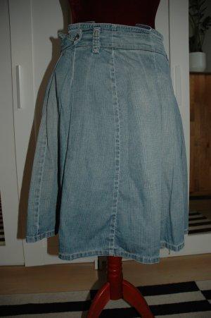 Zara Jupe en jeans bleuet